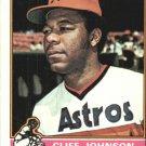 1976 Topps 249 Cliff Johnson