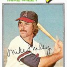 1977 Topps 257 Mike Miley