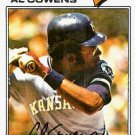 1977 Topps 262 Al Cowens