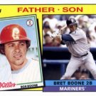 2016 Topps Archives '85 Father Son FSBB Bob Boone/Bret Boone