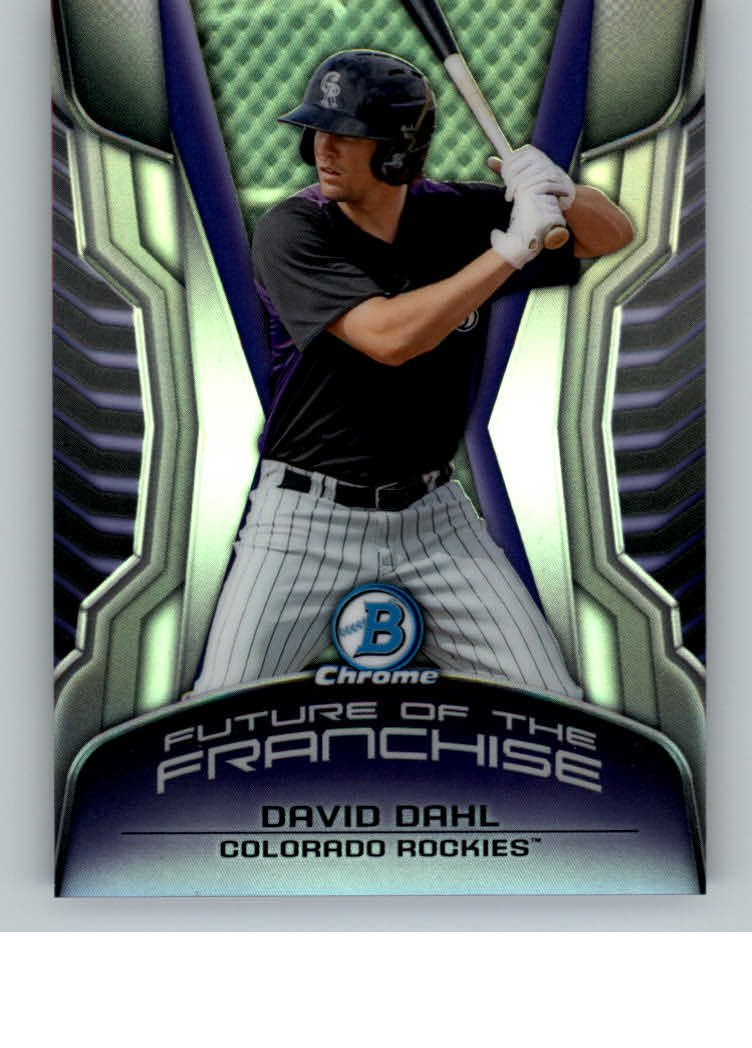 2014 Bowman Chrome Draft Future of the Franchise Mini FF-DD David Dahl