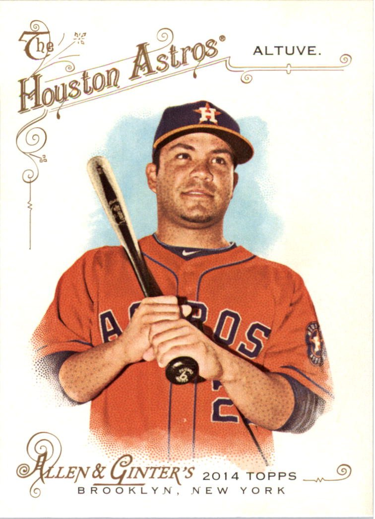 2014 Topps Allen and Ginter 239 Jose Altuve