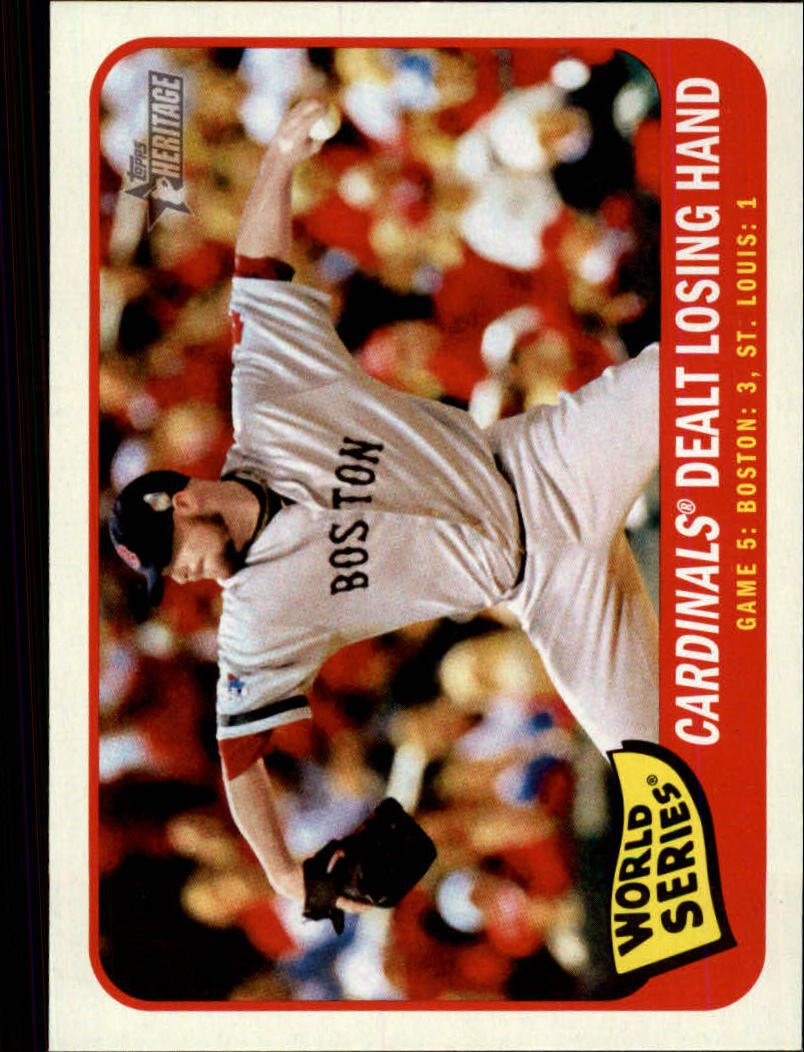 2014 Topps Heritage 136 World Series Game 5