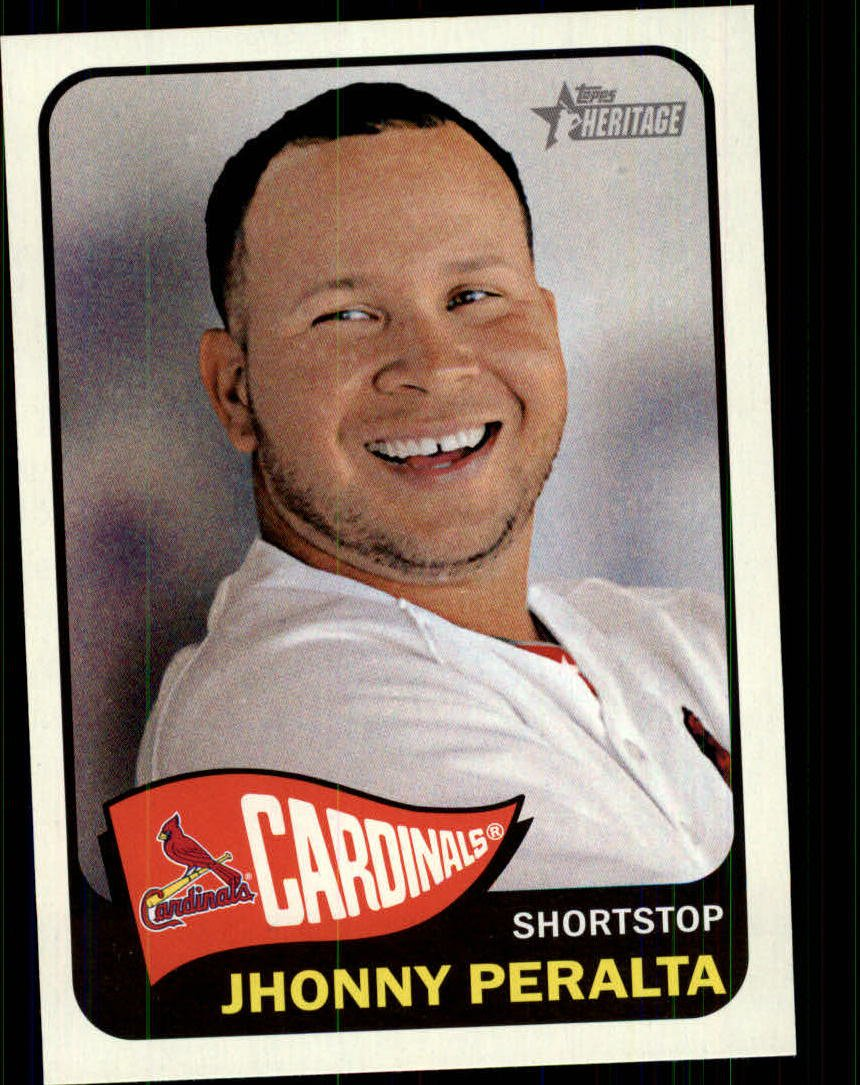 2014 Topps Heritage 288 Jhonny Peralta