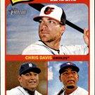 2014 Topps Heritage 3 Edwin Encarnacion/Miguel Cabrera/Chris Davis