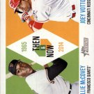 2014 Topps Heritage Then and Now TAN-MV Willie Mccovey/Joey Votto