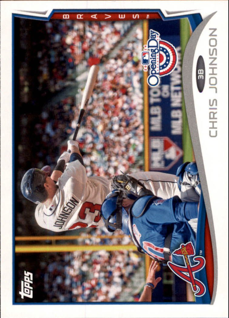 2014 Topps Opening Day 163 Chris Johnson