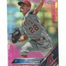 2016 Topps Chrome Pink Refractors 101 Andrew Heaney