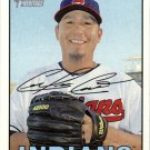 2016 Topps Heritage 121 Carlos Carrasco
