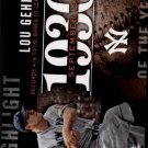 2015 Topps Highlight of the Year #H62 Lou Gehrig UPD