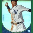 2013 Bowman Chrome Prospects Green Refractors BCP126 Harold Castro
