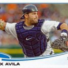 2013 Topps 343 Alex Avila