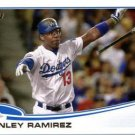 2013 Topps 487 Hanley Ramirez