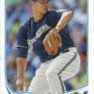 2013 Topps 381 Wily Peralta