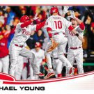 2013 Topps Update US90 Michael Young