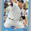 2013 Topps Wal Mart Blue Border 90 Andy Pettitte