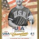 2013 USA Baseball Champions 11 Mark McGwire