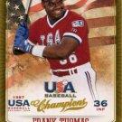 2013 USA Baseball Champions 15 Frank Thomas