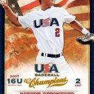 2013 USA Baseball Champions 58 Robert Refsnyder