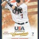 2013 USA Baseball Champions 86 Bryce Brentz