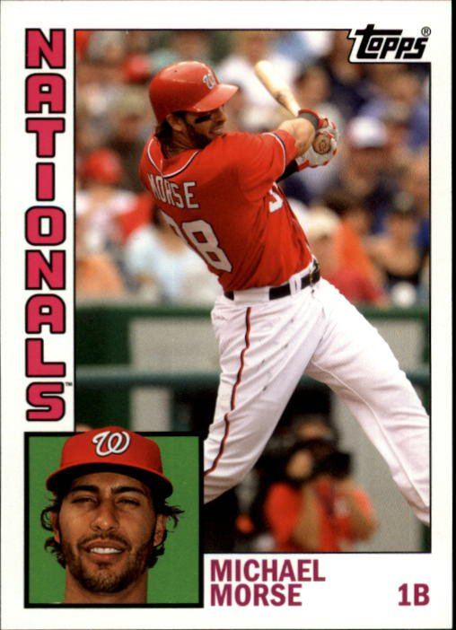 2012 Topps Archives 169 Michael Morse