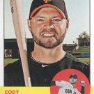 2012 Topps Heritage 30 Cody Ross