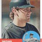 2012 Topps Heritage 411 Nathan Eovaldi