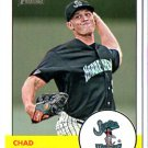 2012 Topps Heritage Minors 174 Chad James