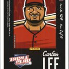 2012 Triple Play 109 Carlos Lee Puzzle