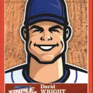 2012 Triple Play Stickers 29 David Wright
