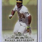 2013 Topps Tribute #54 Rickey Henderson