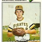 1977 Topps 294 George Medich