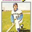 1977 Topps 382 Charlie Moore