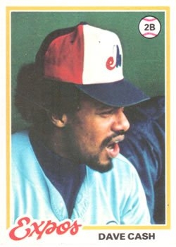 1978 Topps 495 Dave Cash