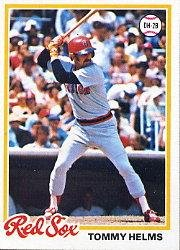 1978 Topps 618 Tommy Helms