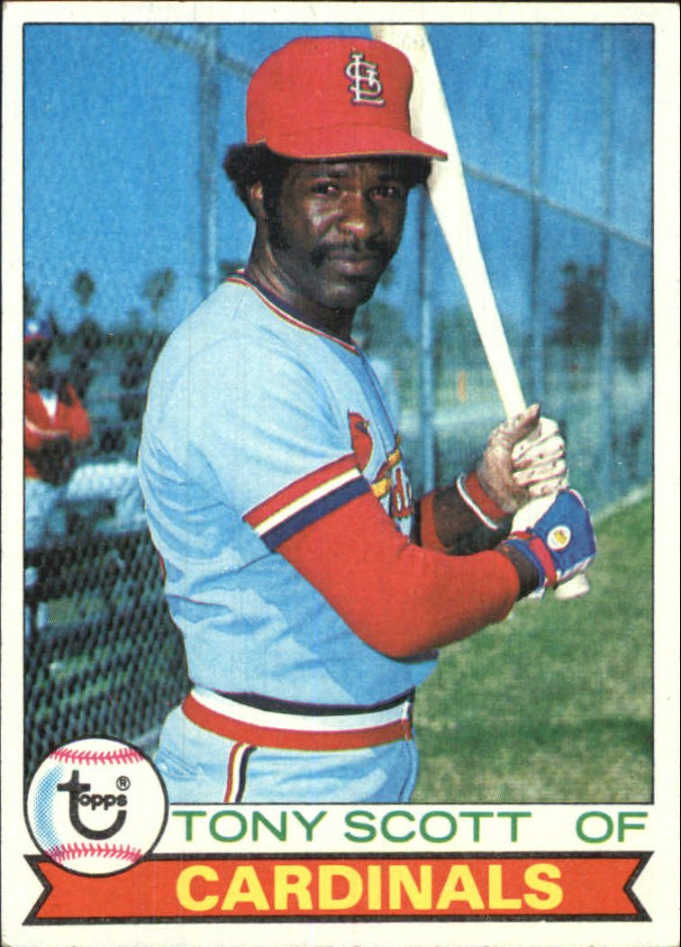 1979 Topps 143 Tony Scott