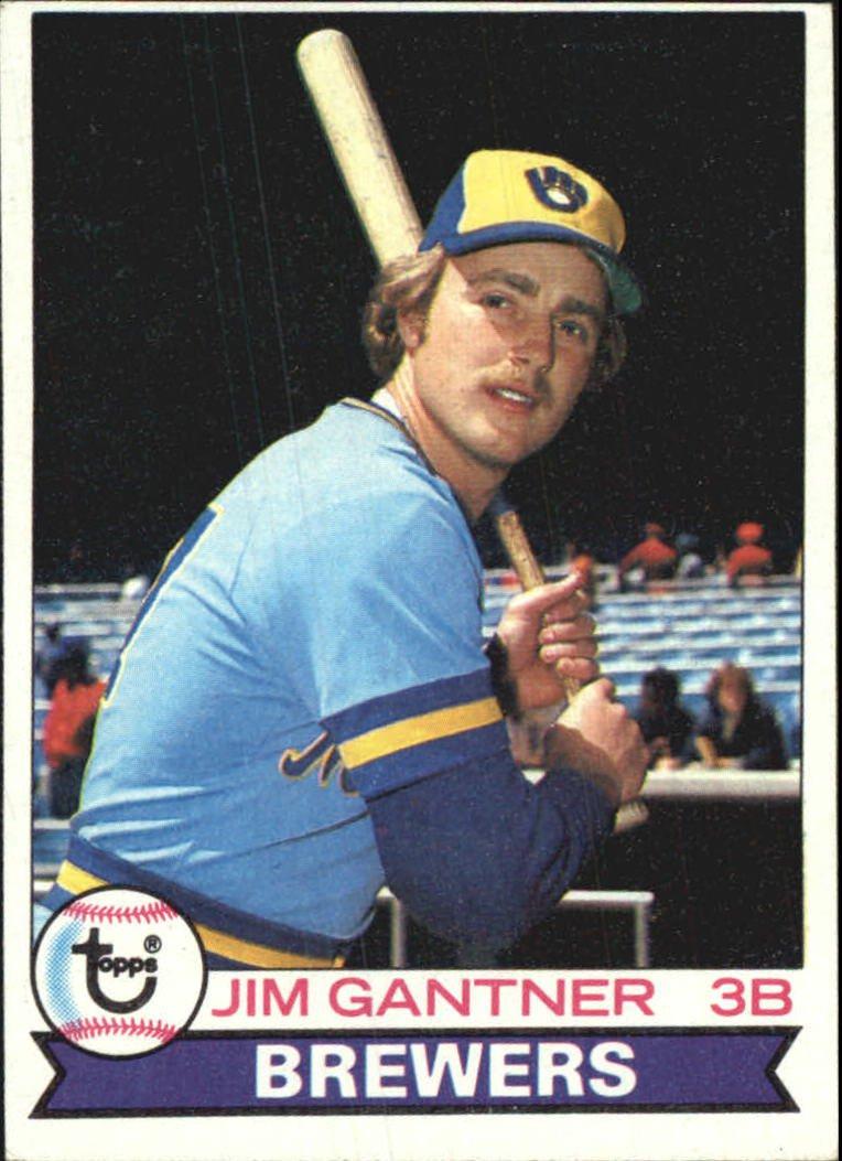 1979 Topps 154 Jim Gantner DP