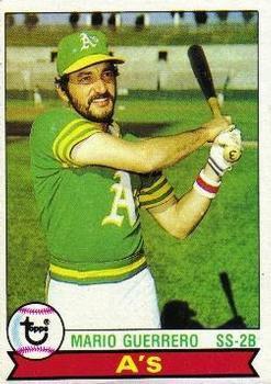 1979 Topps 261 Mario Guerrero