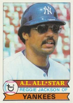 1979 Topps 700 Reggie Jackson DP