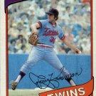 1980 Topps 275 Jerry Koosman