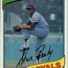 1980 Topps 474 Steve Busby