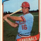 1980 Topps 569 Terry Kennedy