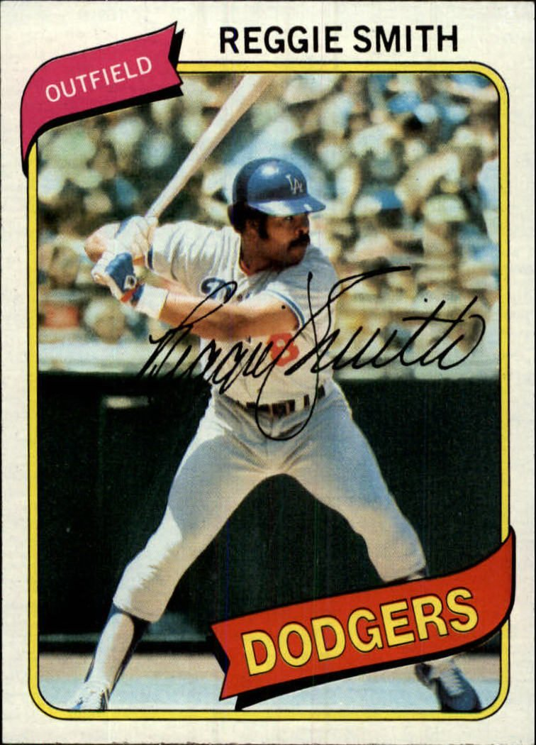 1980 Topps 695 Reggie Smith