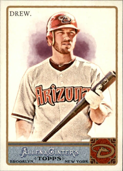 2011 Topps Allen and Ginter 39 Stephen Drew