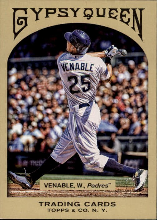 2011 Topps Gypsy Queen 130 Will Venable