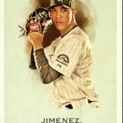 2010 Topps Allen and Ginter 142 Ubaldo Jimenez