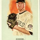 2010 Topps Allen and Ginter 244 Aaron Cook
