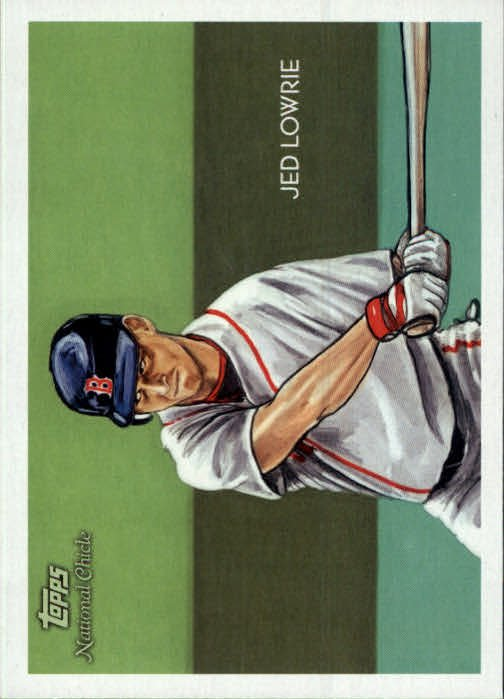 2010 Topps National Chicle 165 Jed Lowrie