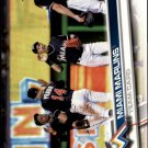 2017 Topps 217 Miami Marlins