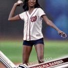 2017 Topps First Pitch FP5 Deshauna Barber